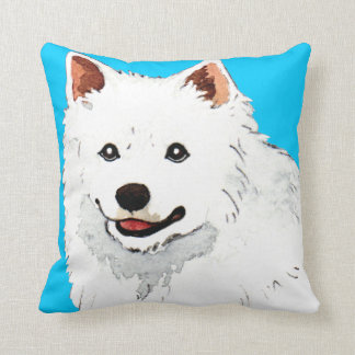 Amo mi perro esquimal americano almohada