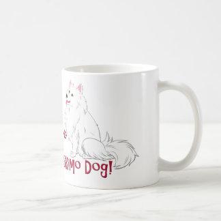 ¡Amo mi perro esquimal americano! Taza Clásica