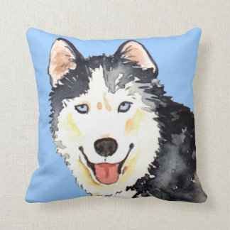 Amo mi perro esquimal almohadas
