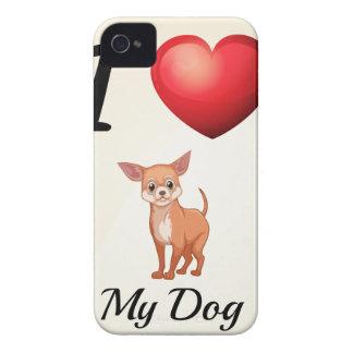Amo mi perro funda para iPhone 4 de Case-Mate