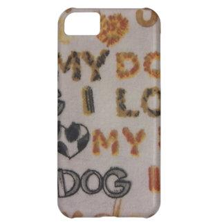 Amo mi perro funda para iPhone 5C
