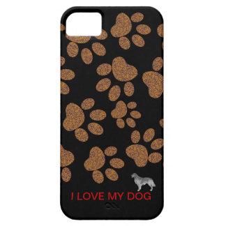 Amo mi perro iPhone 5 funda