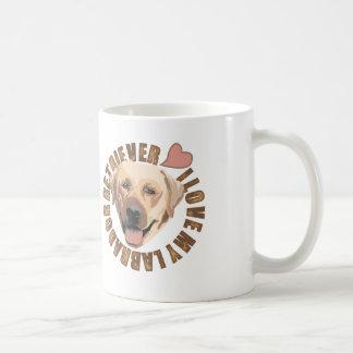 Amo mi perro - labrador retriever taza de café