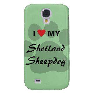 Amo mi perro pastor de Shetland Sheltie