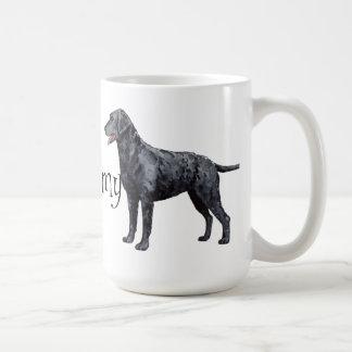 Amo mi perro perdiguero Rizado-Revestido Taza