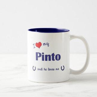 Amo mi Pinto (el caballo masculino) Taza De Café