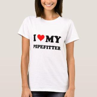 Amo mi Pipefitter Playera