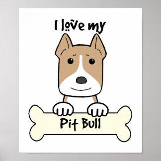 Amo mi Pitbull Impresiones