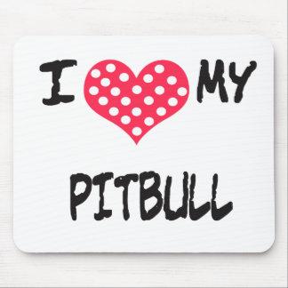 Amo mi Pitbull Mousepads