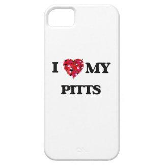 Amo MI Pitts iPhone 5 Carcasas
