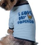 Amo mi Podengo Camiseta De Perrito