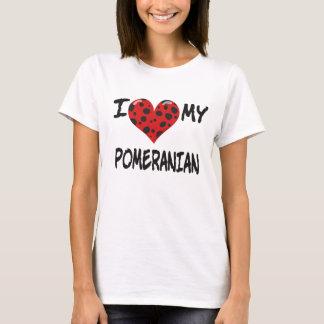 Amo mi Pomeranian Playera