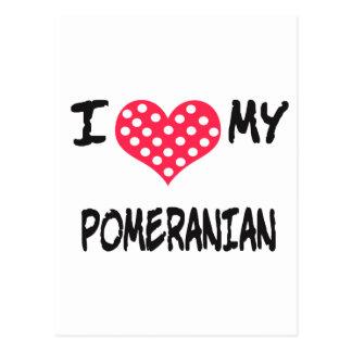 Amo mi Pomeranian Postal
