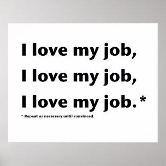 Amo mi poster de Job* Póster