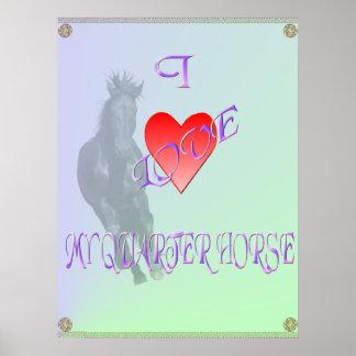 Amo mi poster del Quarterhorse