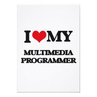 Amo mi programador de las multimedias anuncios