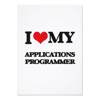 Amo mi programador de los usos comunicado personal