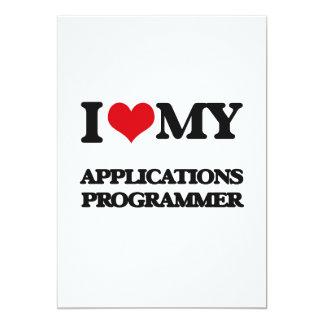 Amo mi programador de los usos invitaciones personales