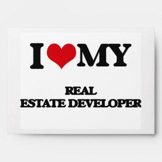 Amo mi promotor inmobiliario sobres