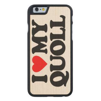 AMO MI QUOLL FUNDA DE iPhone 6 CARVED® DE ARCE