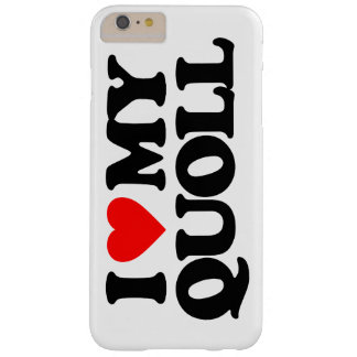 AMO MI QUOLL FUNDA DE iPhone 6 PLUS BARELY THERE