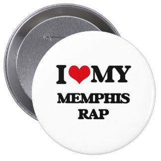 Amo mi RAP de MEMPHIS Pin