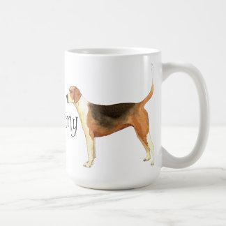 Amo mi raposero americano taza clásica