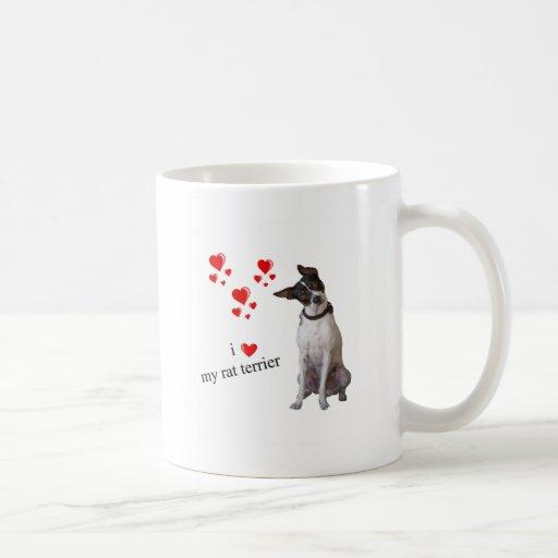 Amo mi rata Terrier Taza
