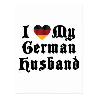 Amo mi regalo alemán del marido