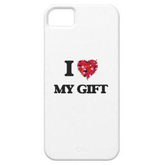 Amo mi regalo funda para iPhone 5 barely there
