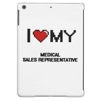 Amo mi representante de ventas médico