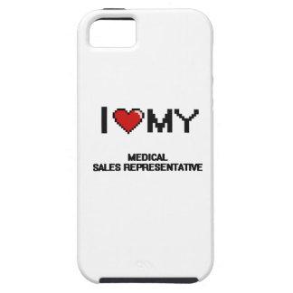 Amo mi representante de ventas médico iPhone 5 cobertura