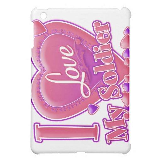 Amo mi rosa/púrpura - corazón del soldado