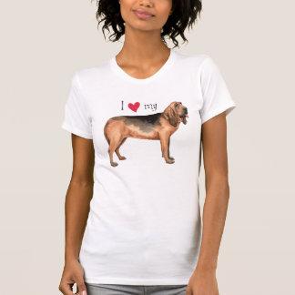 Amo mi sabueso camisas