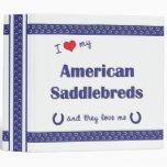 Amo mi Saddlebreds americano (los caballos múltipl