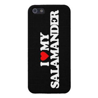 AMO MI SALAMANDER iPhone 5 FUNDAS