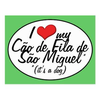 Amo mi sao Miguel (de Cao de Fila de es un perro) Postal