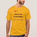 Amo mi sao Miguel (el perro femenino) de Cao de Playera
