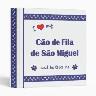 """Amo mi sao Miguel (el perro masculino) de Cao de Carpeta 1"""""""