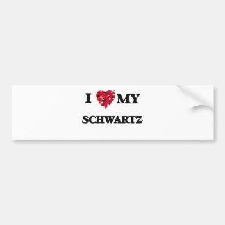 Amo MI Schwartz Pegatina Para Auto