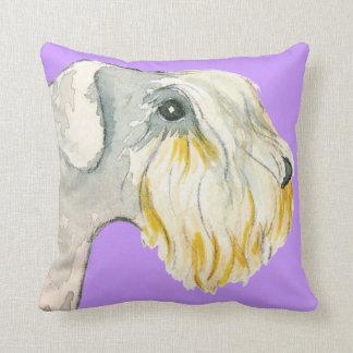 Amo mi Sealyham Terrier Cojín Decorativo