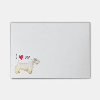 Amo mi Sealyham Terrier Notas Post-it®