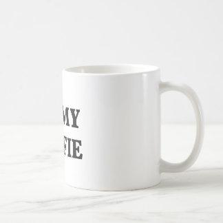 Amo mi selfie, arte de la palabra, diseño del taza