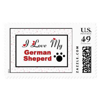 Amo mi sello alemán de Shepard