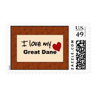 Amo mi sello de great dane