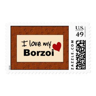 Amo mi sello del Borzoi