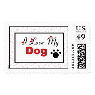 Amo mi sello del perro