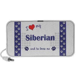 Amo mi siberiano (el gato masculino) mp3 altavoces