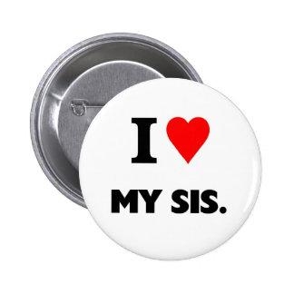 Amo mi SIS Pin