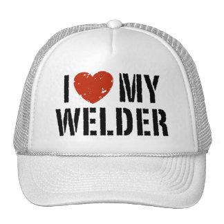 Amo mi soldador gorra